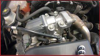 Czyszczenie Zaworu Egr Exhaust Gas Recirculation Opel Astra J 1 7 Cdti Zafira How Clean Egr Youtube