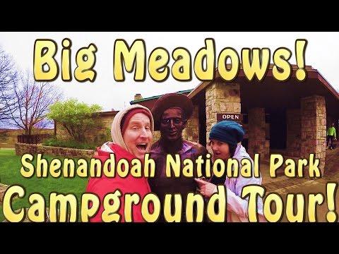 BIG MEADOWS CAMPGROUND TOUR! Shenandoah National Park