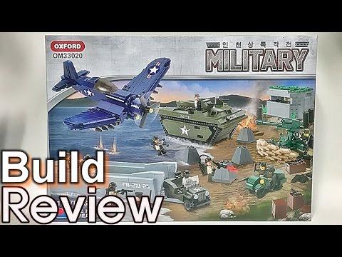 [생방송] 옥스포드 밀리터리 인천상륙작전 OM33020 조립 과정 리뷰 Oxford military Battle of Inchon build review