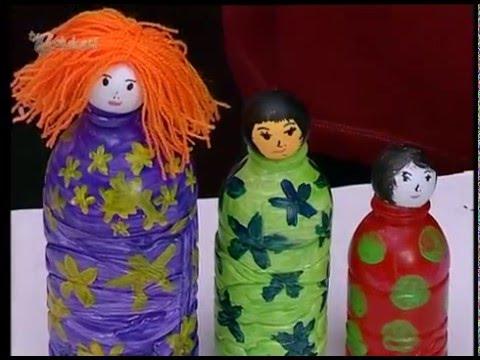 Membuat Boneka Dari Botol Kreatif Anak Indonesia Youtube
