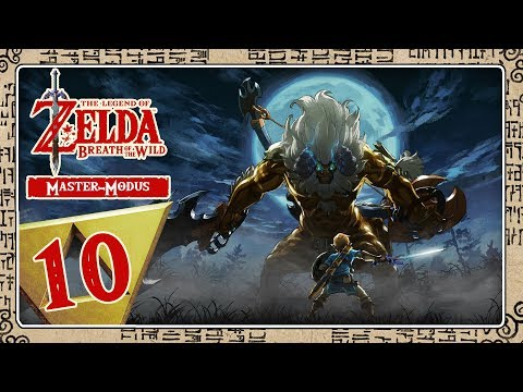 🔴 THE LEGEND OF ZELDA BREATH OF THE WILD [MASTER-MODE] Part 10: Reise ins Orni-Dorf