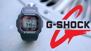 G-Shock GWM5610-1 Solar Watch Overview