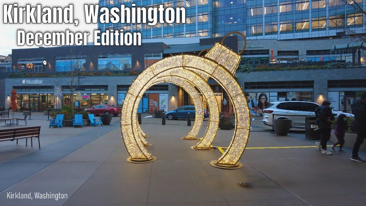 Download Downtown Kirkland, Washington Walking Tour 4k