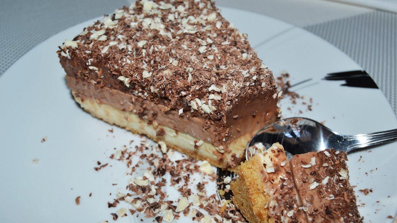 Tarta de 3 chocolates postres f ciles youtube for Postres faciles