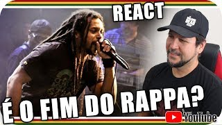 MARCELO FALCÃO - O FIM DO RAPPA? Reggae Rap Funk Rock Reagindo React