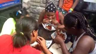 Atomic Chicken Wing Eating Contest