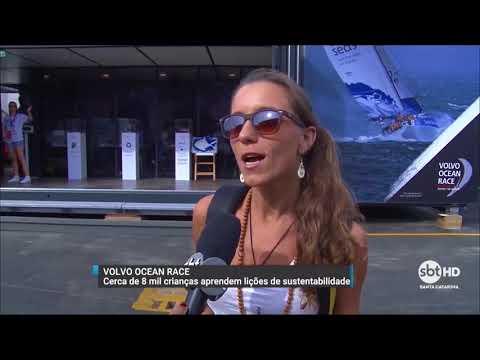 Crianças aprendem lições de sustentabilidade na Volvo Ocean Race
