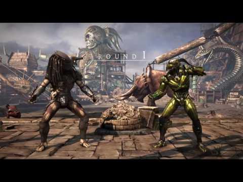 PS4 MKXL Predator MaXWelL vs Cyrax Matthew Bright