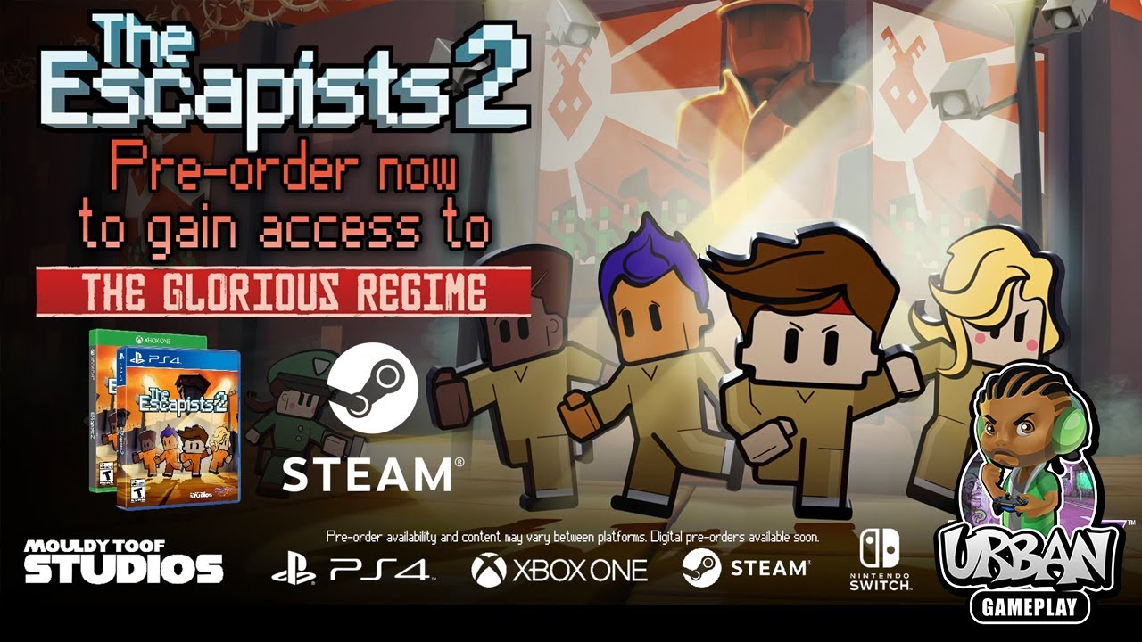 The Escapists 2 Release Date Confirmed PlayStation 4
