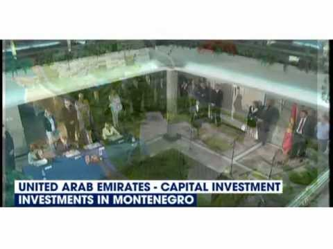 Capital Investment , United Arab Emirates,  investments in Montenegro