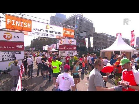 Compilatie Rotterdam Marathon