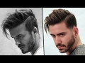 DAVID BECKHAM HAIRSTYLE TUTORIAL | How To Style Men's Hair 2017 | Alex Costa