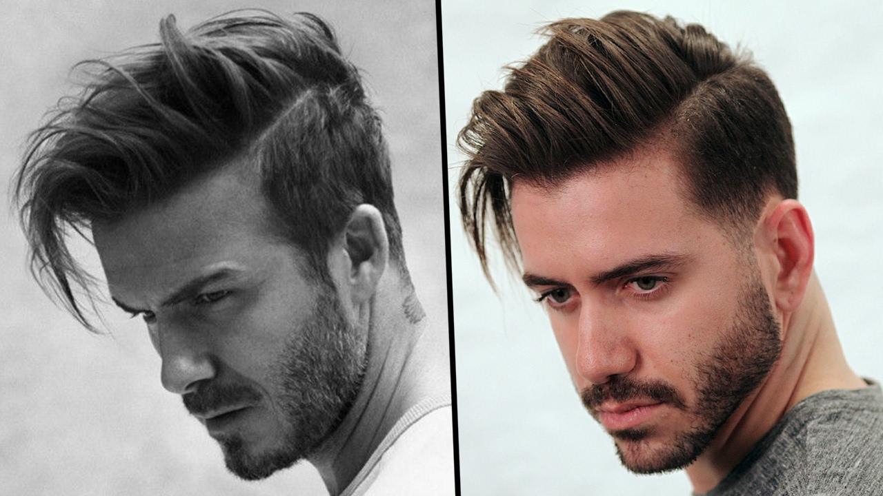 david beckham hairstyle tutorial | how to style men's hair 2019 | alex costa