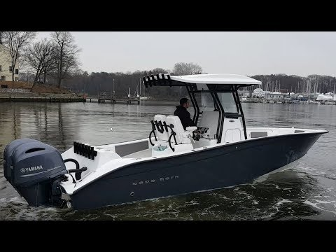Cape Horn 27 XS Center Console Test And Review