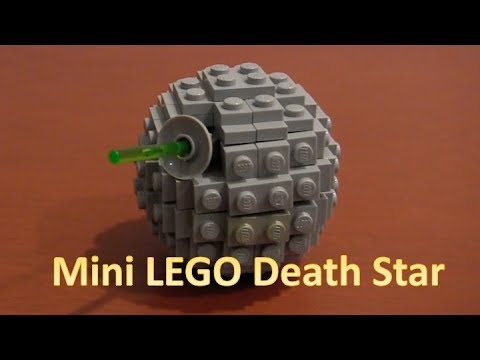 How To Build A Lego Star Wars Mini Death Star Instructions Youtube