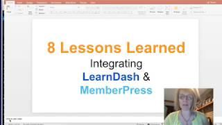 8 Lessons Learned:  LearnDash and MemberPress Integration