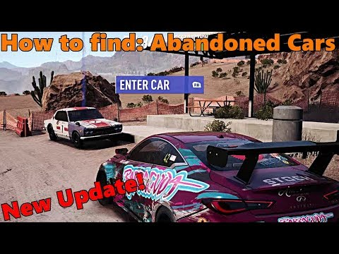 Need For Speed Payback | NEW UPDATE! How to Find and Save ABANDONED CARS!! Hakosuka GTR Gameplay