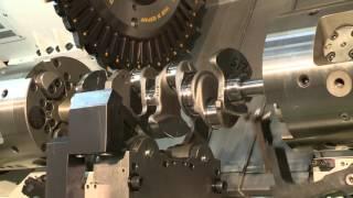 NILES-SIMMONS N20 TB Series -  Crankshaft Turnbroaching Machine