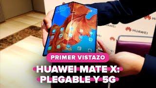 Huawei Mate X: El primer teléfono plegable de Huawei es 5G