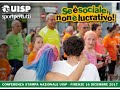 Se è sociale non è lucrativo, Conferenza stampa promossa dall'Uisp