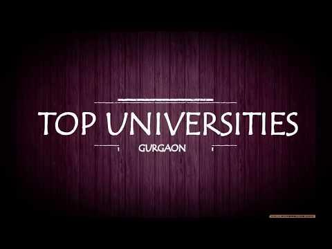 TOP UNIVERSITIES IN GURGAON NCR