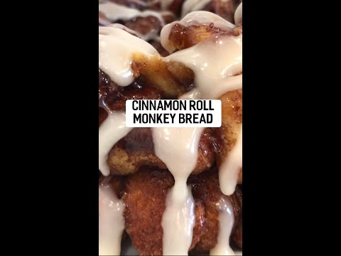 Cinnamon Roll Monkey Bread (Vegan)