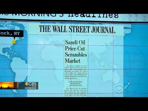 Headlines: Saudi Arabia cuts prices of oil sold to U.S.