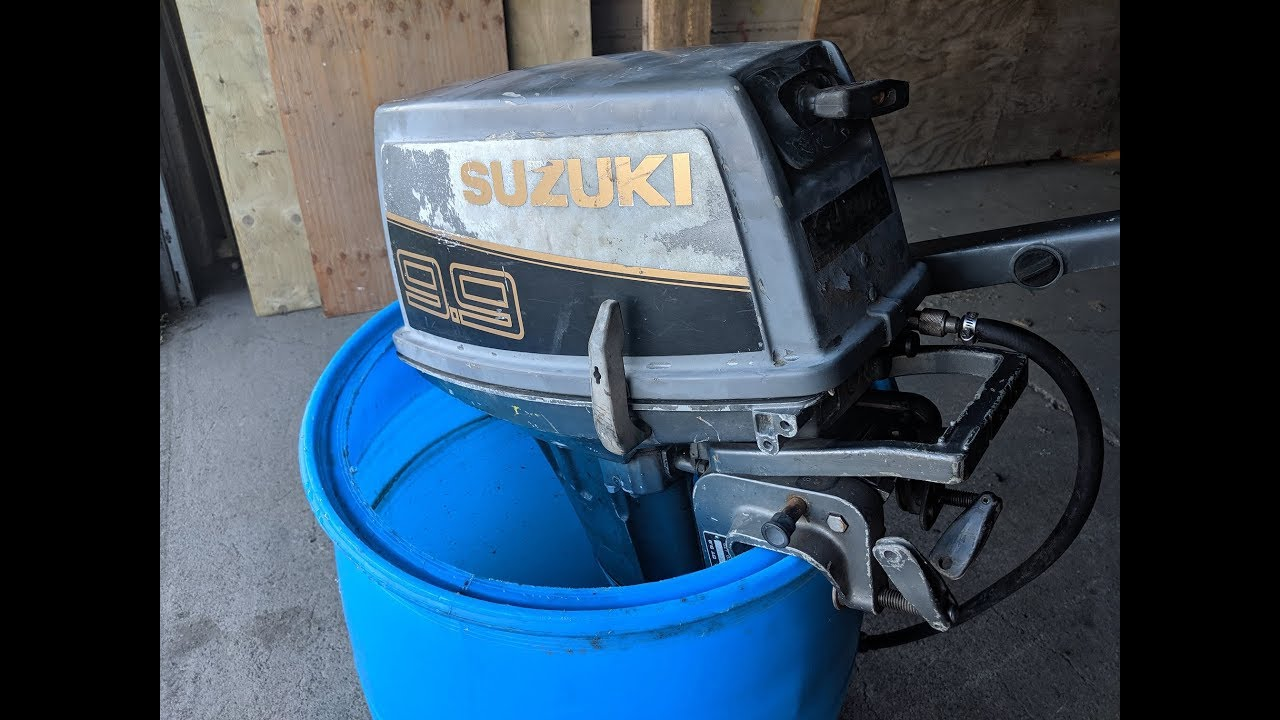 Buy Sell Free Suzuki 9 9hp 2 Stroke Outboard Motor Youtube
