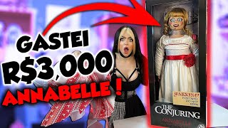 GASTEI R$3000,00 EM UMA BONECA DO MAL! ANNABELLE Trick or Treat Studios