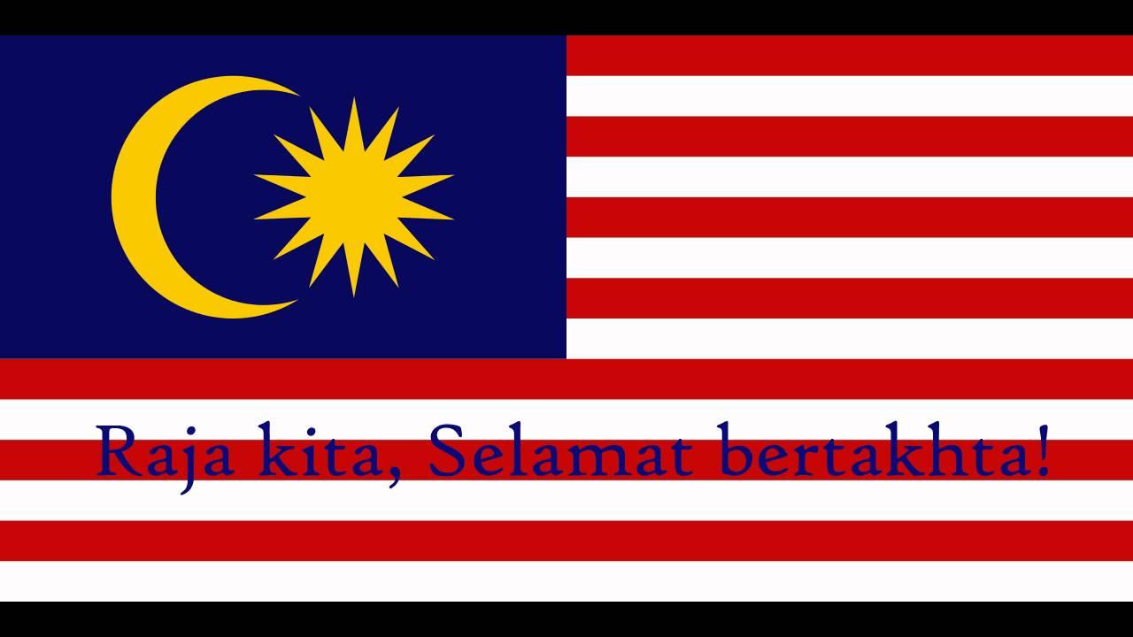 Malaysian National Anthem Negaraku Lyrics Translations In Subtitles Youtube