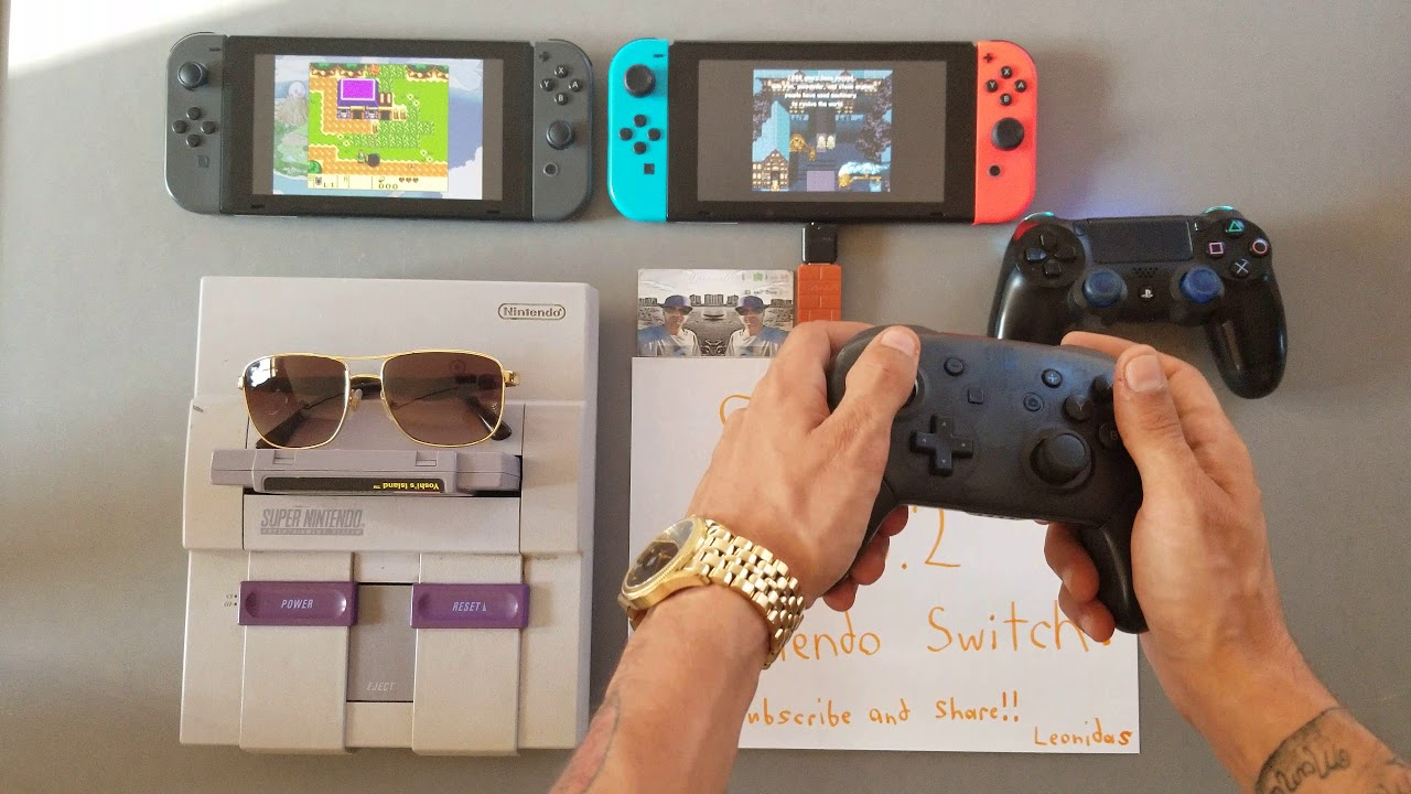 SUPER NINTENDO running on THE NINTENDO SWITCH (5 0 2 Homebrew) 4 1 0 SOON  (SNES Virtual Console) by Jason L