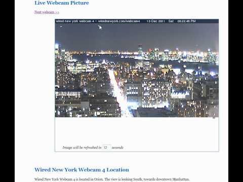 UFOs webcam NYC