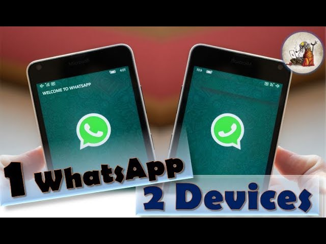 one whatsapp account on two devices