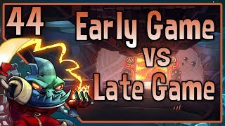 "Awesomenauts - Leon Gameplay - ""Early Game vs Late Game"""