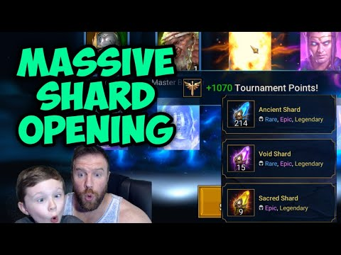 Raid Shadow Legends - Massive Shard Summoning - 250 Shards Opened!!!