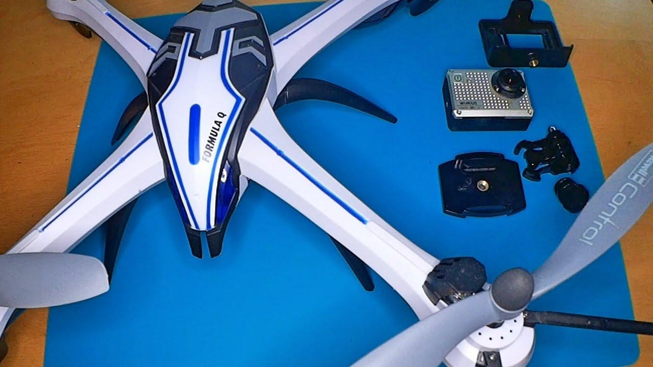 action kamera an den revell formula q rc quadcopter. Black Bedroom Furniture Sets. Home Design Ideas