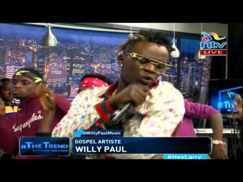 Willy Paul performs 'Digiri' on #TheTrend