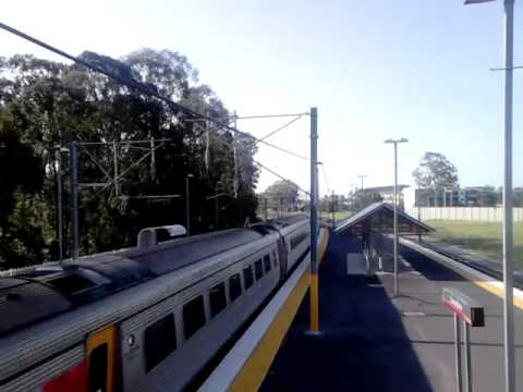 ICE running express to Brisbane
