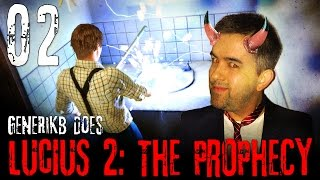"Lucius 2 Gameplay Walkthrough Ep 02 - ""Death Is An ART!!!"""