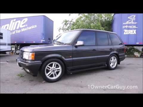 P38 Range Rover 4.6 HSE C11 Callaway Cars Performance Edition