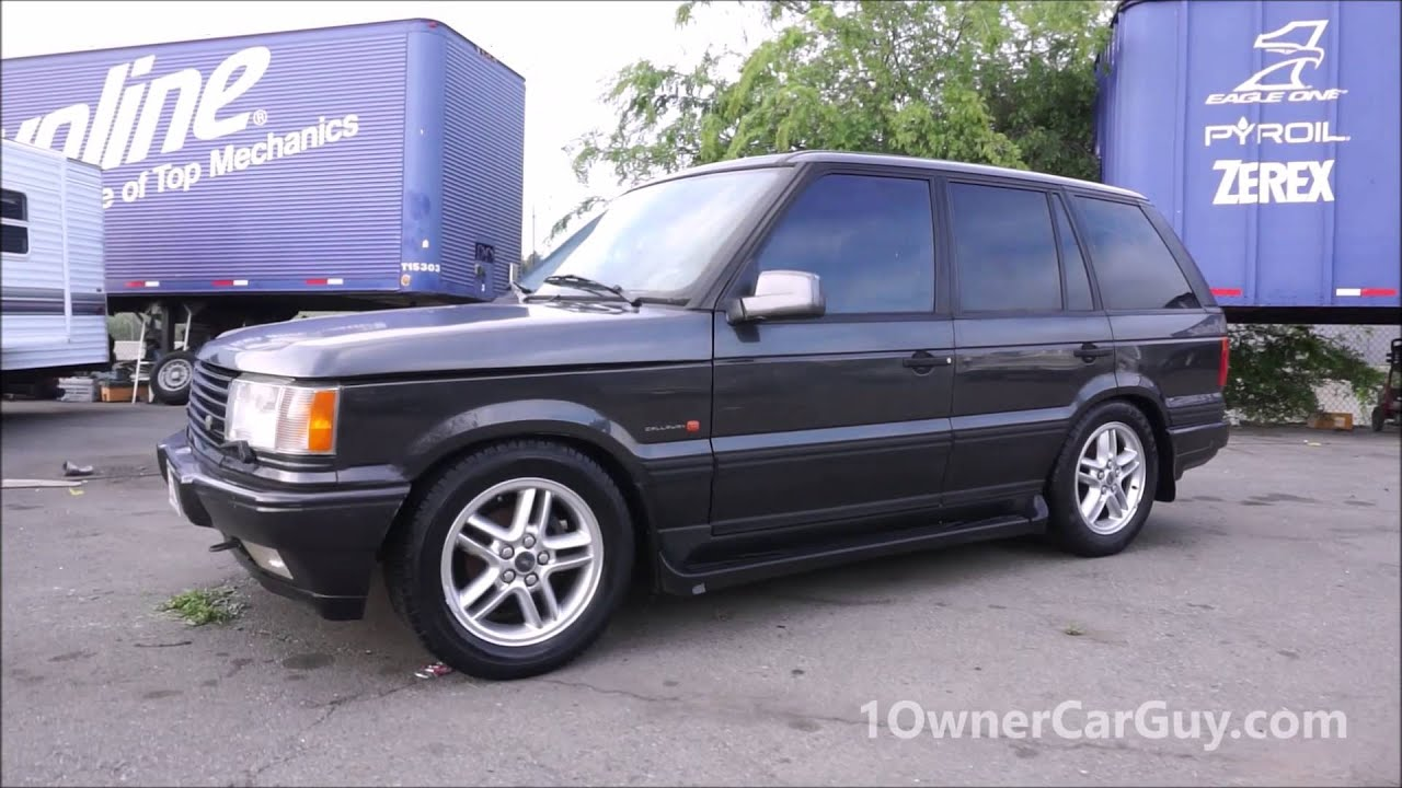 P38 Range Rover 4 6 HSE C11 Callaway Cars Performance Edition