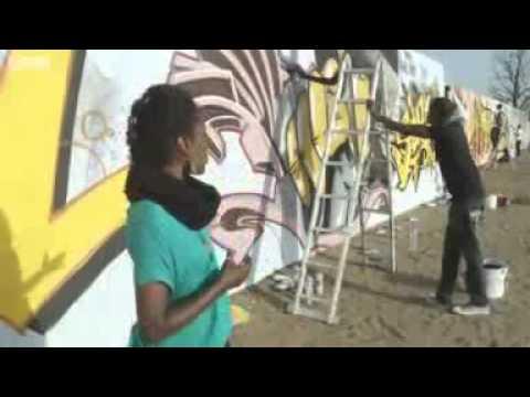 World graffiti artists take Dakar by storm