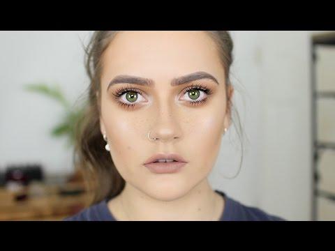 Sepia sculpting makeup tutorial | Cruelty free | EmmasRectangle