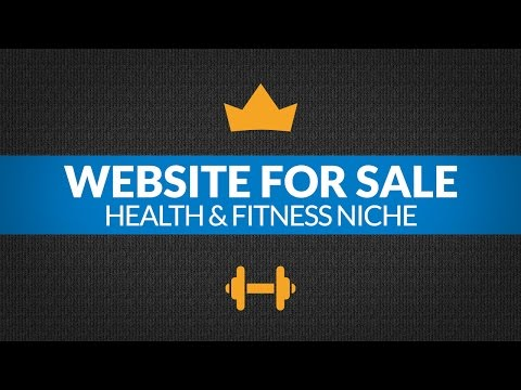 Website For Sale: $4.6K/Month in Health and Fitness Niche