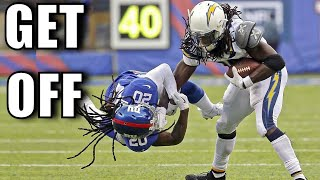 "NFL Best ""Get Off Me"" Plays"