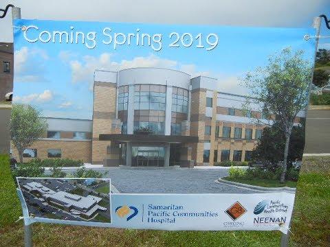 Newport Oregon new hospital ground breaking 2017