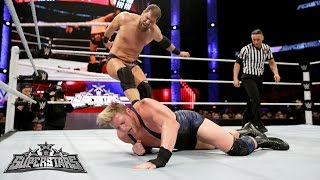 Jack Swagger vs. Curtis Axel: WWE Superstars, February 20, 2015