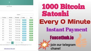 How To Earn Satoshi In Faucethub