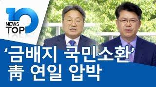 '금배지 국민소환' 靑 연일 압박