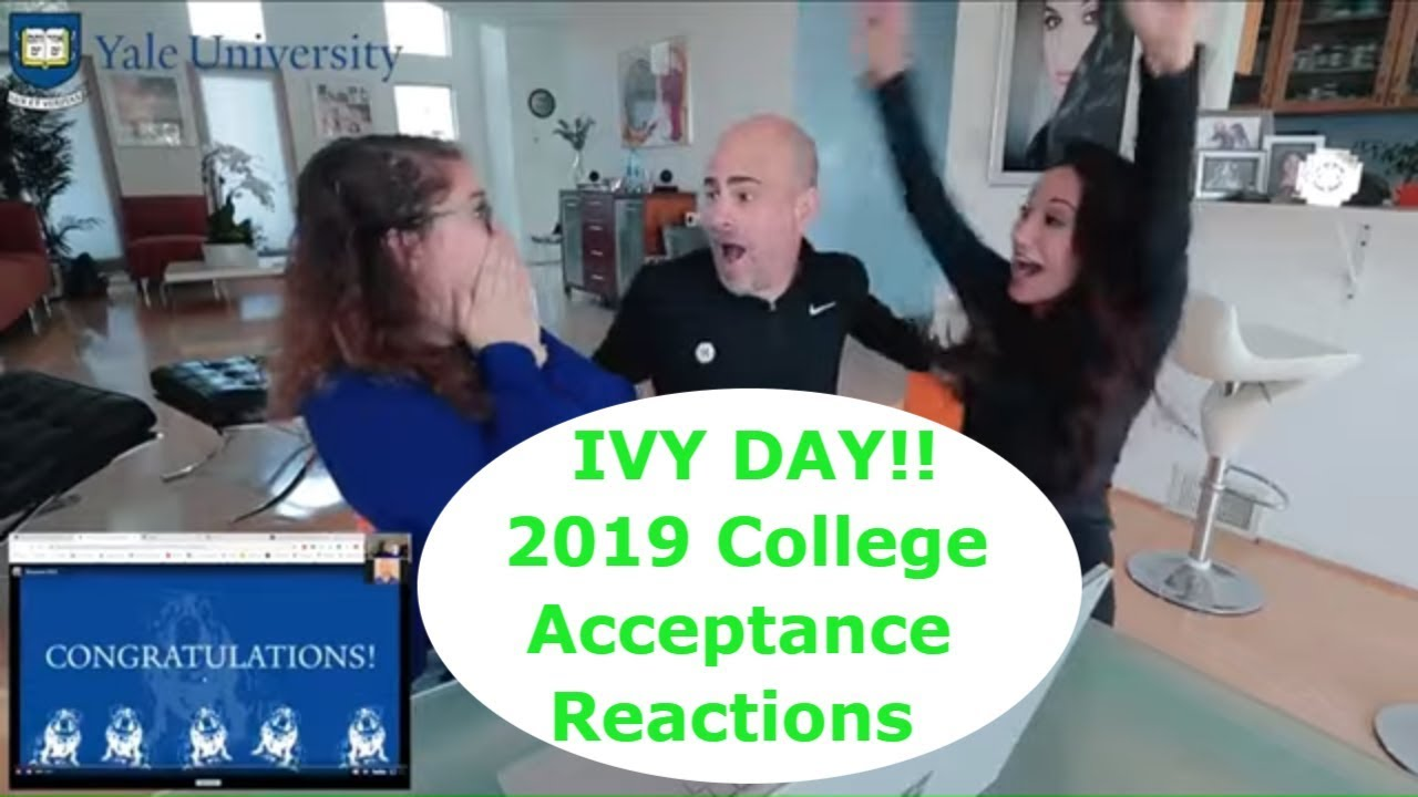 Ivy Day - College Decision Reactions 2019 Compilation